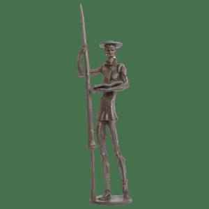 Quijote-con-Lanza-Leyendo