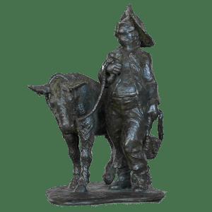 Sancho Panza con Burra