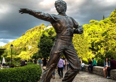 Imagen monumento Bailaor Mario Maya