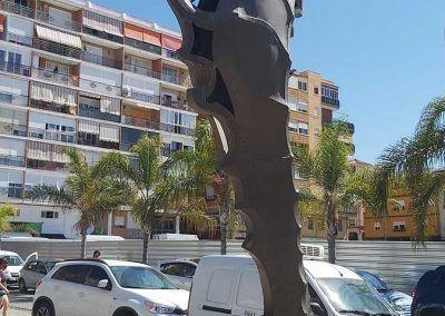 Imagen monumento caballito de mar